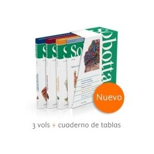 SOBOTTA. ATLAS DE ANATOMIA HUMANA (3VOL.+TABLAS)